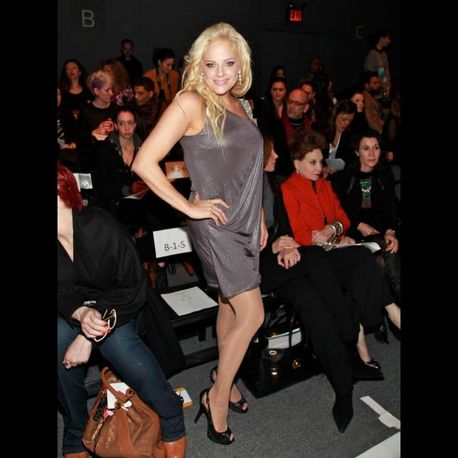 Mercedes Benz Fashion Week Heather Schmid
