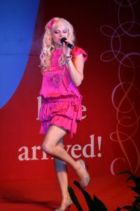Heather Schmid Performing in China