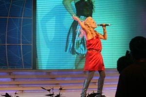 Pop Singer Heather Schmid
