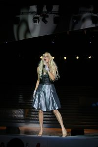 Pop Celebrity Performance in China